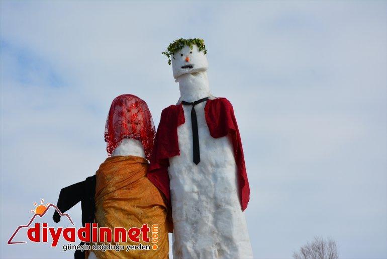 - kardan yağışına 5 kardeşler, gelin metrelik ve Kar sevinen AĞRI damat yaptı 9