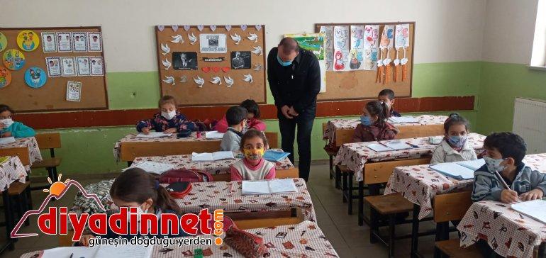 Ağrı Milli Eğitim Müdürü Tekin köy okullarını ziyaret etti4