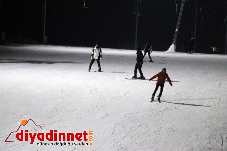 AĞRI kayak geceleri Kayak keyfi aydınlatılan Pistleri - sunuyor Küpkıran de Merkezi 18