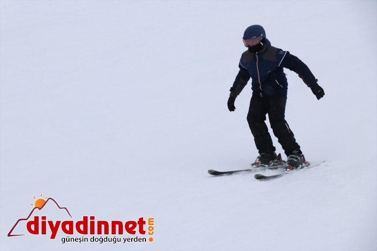 Merkezi'nde kayak Küpkıran Kayak hafta yaşanıyor Ağrı'daki keyfi sonu 6