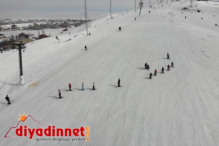 geleceğin kayak sporcusu milli hazırlanıyor çocuklar olmaya Ağrılı 10