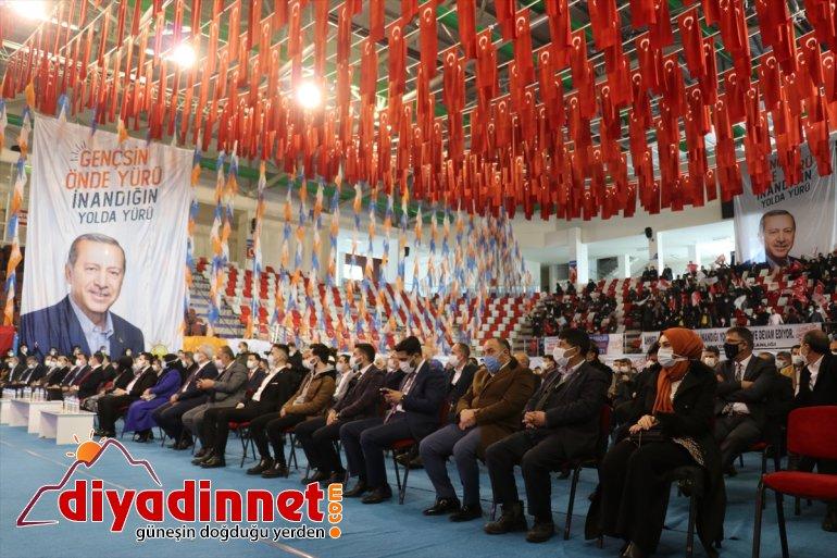 AK Parti Ağrı Gençlik Kolları Başkanlığına Muhammed İkbal Gülçin yeniden seçildi