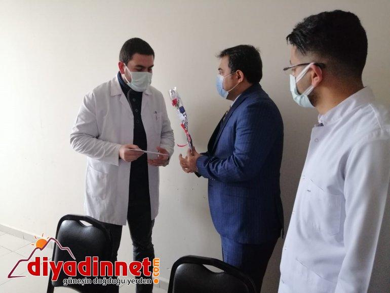 Diyadin Kaymakamı ve Belediye Başkan Vekili Balcı sağlık çalışanlarını unutmadı11