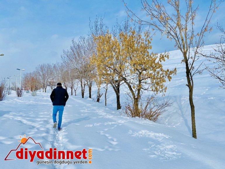Kış mevsimi Ağrı yı kartpostala çevirdi2