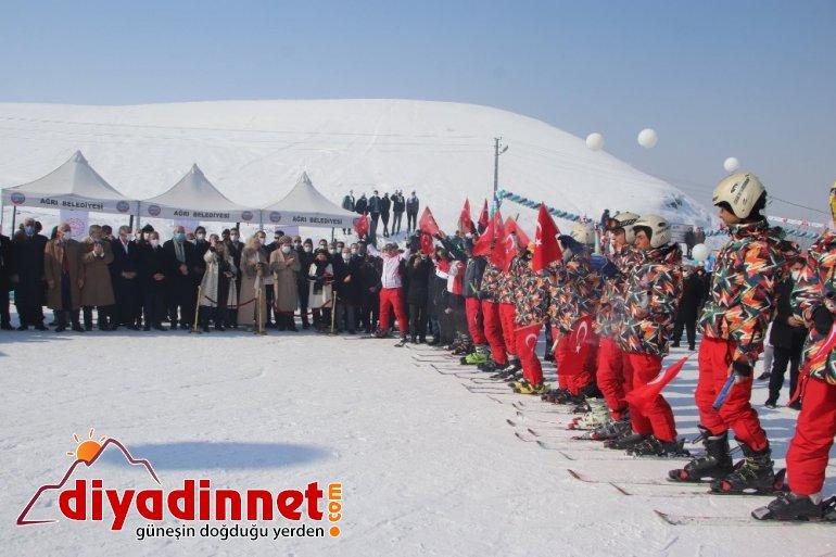Ağrı Kar ve Buz Festivali coşkuyla kutlandı6