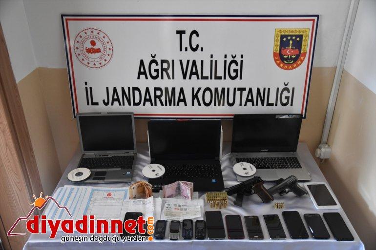 dolandırıcılık liralık satarak milyon yakalandı Sahte yaptıkları AĞRI iddiasıyla 4 zanlı altın - 22 3