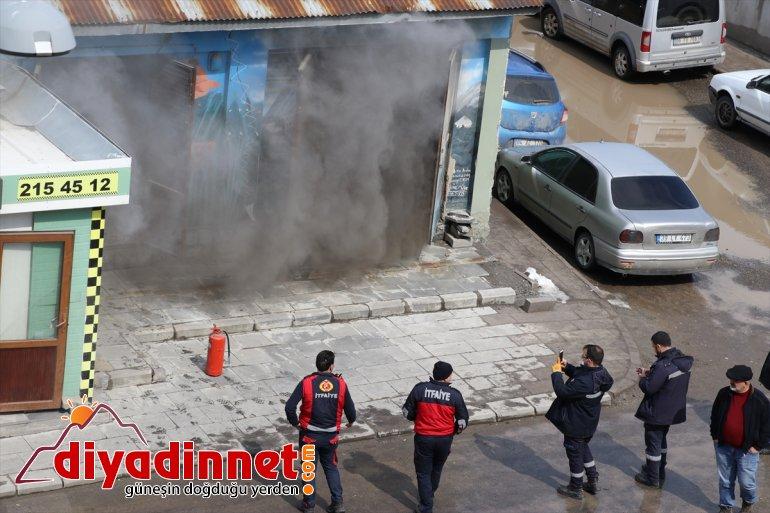 yol yangın elektrik Ağrı'da kesintiye panosunda açtı 3