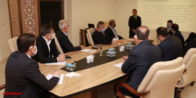 Ahlat'ta proje tanıtım toplantısı yapıldı