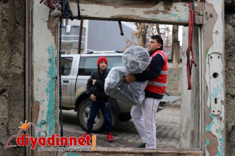 Birleşmiş Milletler Mülteciler Yüksek Komiserliğinden Ağrı'daki sığınmacılara destek