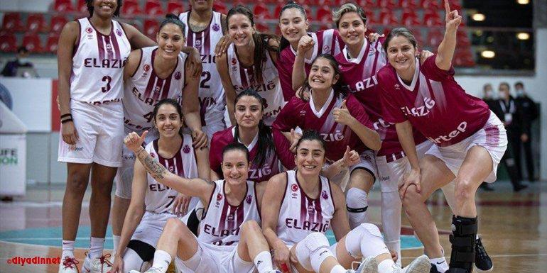 Elazığ İl Özel İdare'nin Basketbol Kadınlar Avrupa Kupası'nda hedefi yarı final