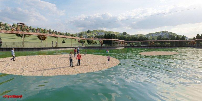 """Erzurum'daki doğa harikası """"yüzen adalar"""" turizme kazandırılıyor"""