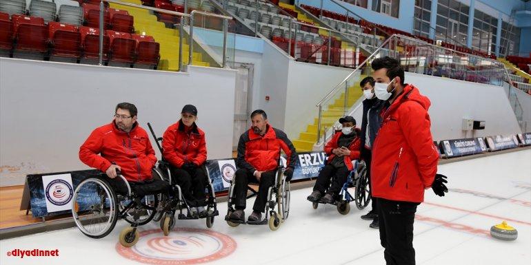 Milli curlingciler, kış paralimpik oyunlarına katılarak, Türkiye'ye bir ilki yaşatmak istiyor