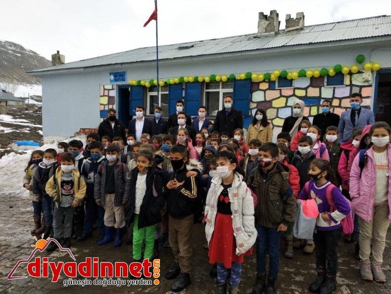 Hamur da atıl binadan yeni okul yapıldı3