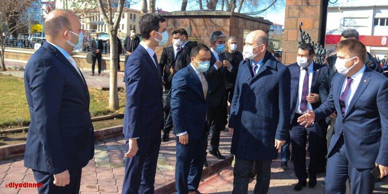 IĞDIR - İçişleri Bakanı Süleyman Soylu, güvenlik toplantısına katıldı1