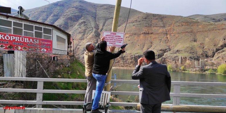Keban'da Fırat Köprüsü olta balıkçılığına açıldı