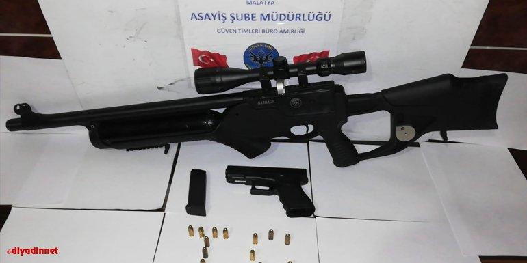 Malatya'da asayiş uygulamasında bir miktar uyuşturucu ele geçirildi