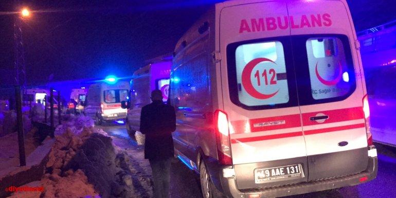 MSB, Bingöl'de kaza kırıma uğrayan helikopterde 9 personelin şehit olduğunu bildirdi:1