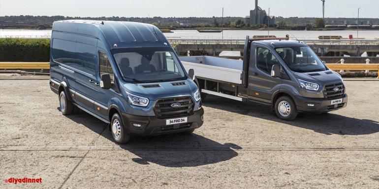 Yeni 5 tonluk Ford Transit van ve kamyonet Türkiye'de1