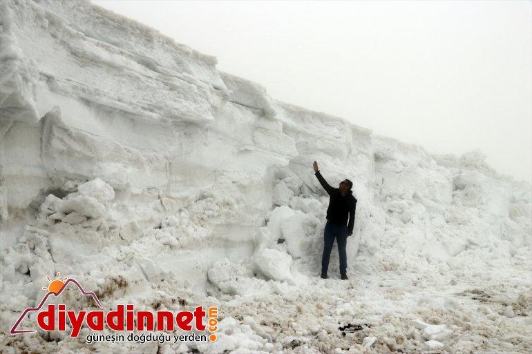 kaplanları' nisanda karla da yoğun mücadele - 'Kar mesaisinde AĞRI 9