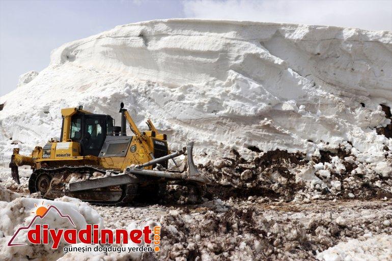 açıldı 6 köy olan aydır Gölü Balık ile Ağrı'da ulaşıma kapalı çevre yolları 12