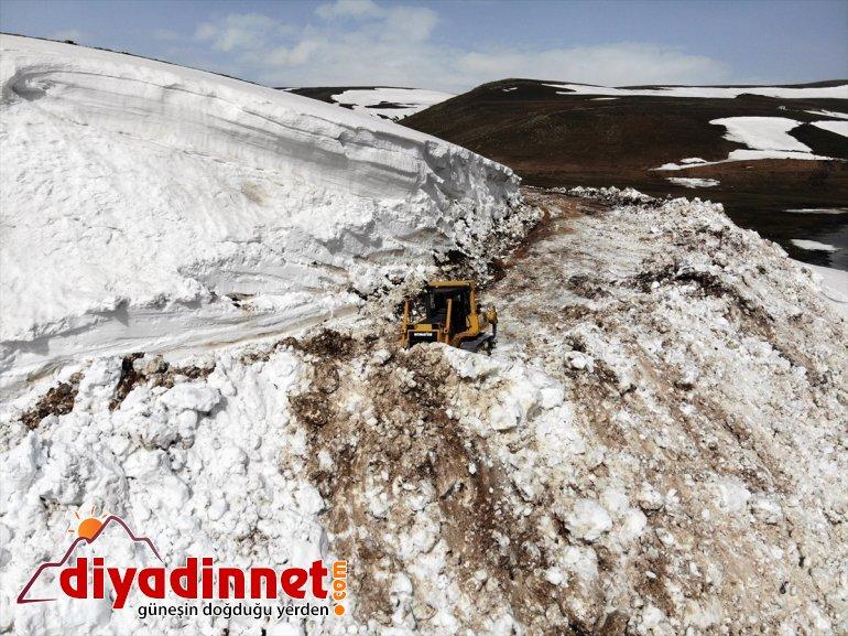 köy ile açıldı olan Ağrı'da kapalı Balık yolları Gölü ulaşıma çevre aydır 6 6