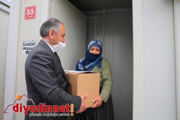 kolisi geçici 5,5 yardımı depremzedelere Elazığ'da konteyner ton kentlerde yapıldı barınan hijyen 3