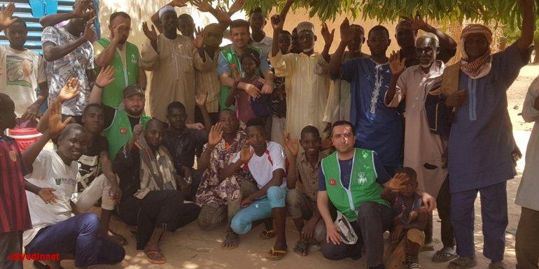 İHH ramazan dolayısıyla Nijer'de yardım faaliyetlerinde bulundu