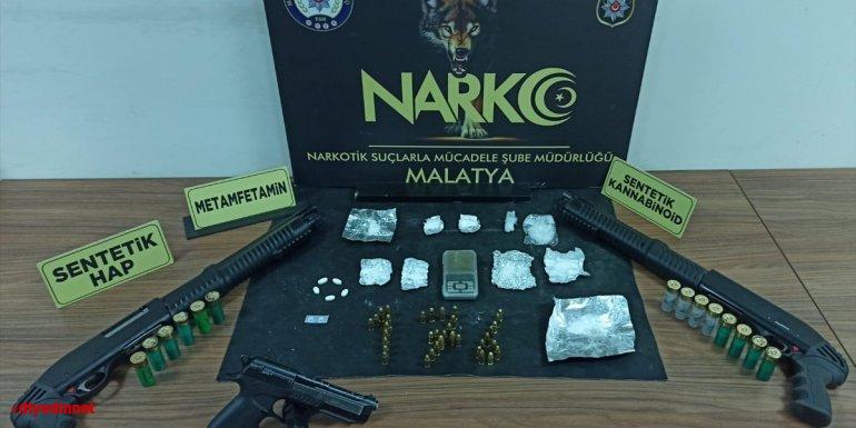 Malatya'da uyuşturucu operasyonunda 1 şüpheli yakalandı