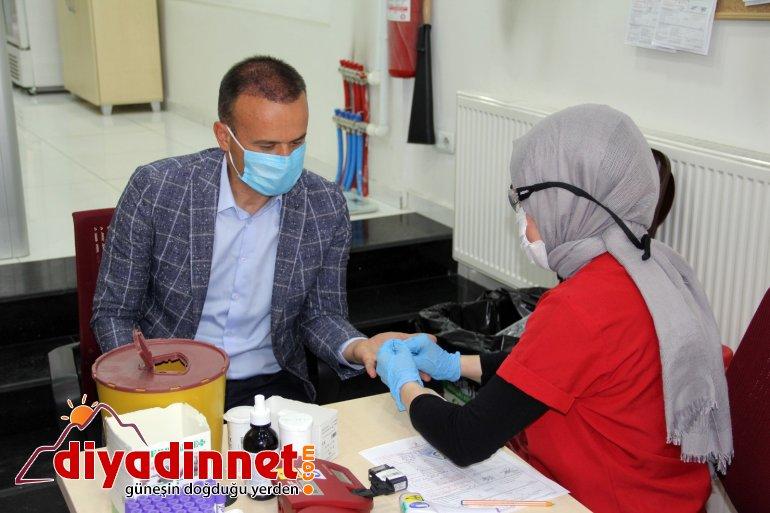 Ağrı da Kızılay a kan bağışı kampanyası düzenlendi2