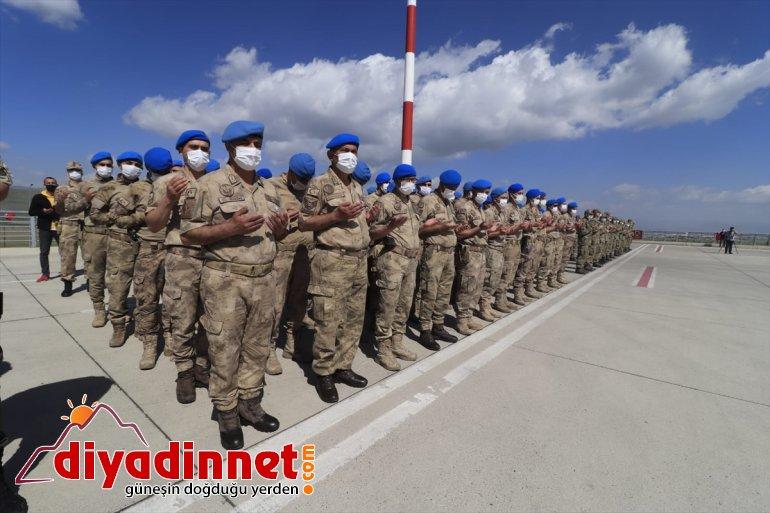 Eren-15 - düzenlendi Operasyonu'nda için tören AĞRI olan asker şehit 5