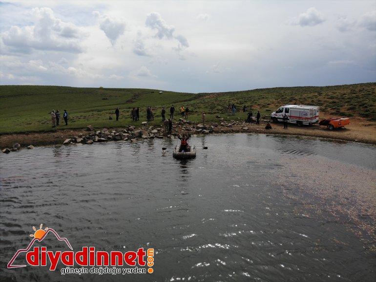 - otlatırken göletinde bulundu sulama Hayvanlarını AĞRI kaybolan çobanın cesedi 3