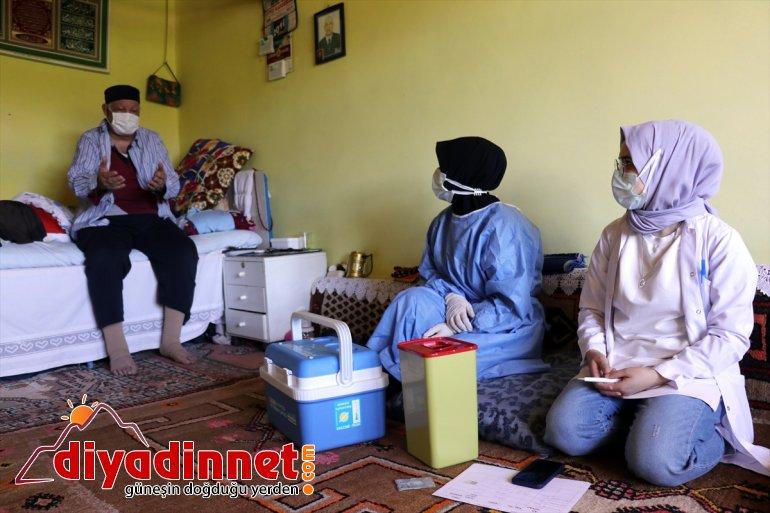 kırsaldaki mutlu seferberliği hem - vakaları etti Sağlıkçıların AĞRI düşürdü hem aşı vatandaşı 9
