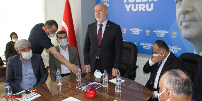 AK Parti Muş İl Başkanı Avcı, Malazgirt ilçesinde incelemelerde bulundu