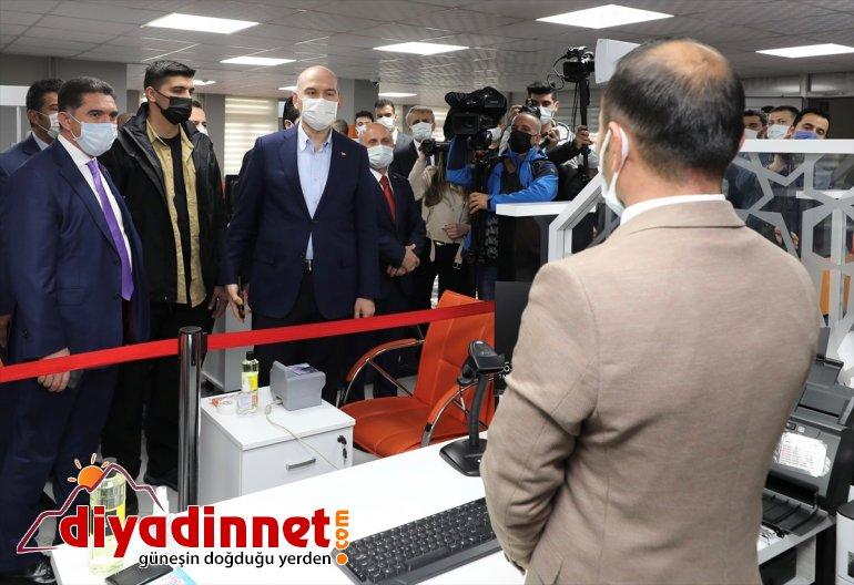 İçişleri Bakanı Süleyman Soylu, Ağrı'da bazı kurumları ziyaret etti