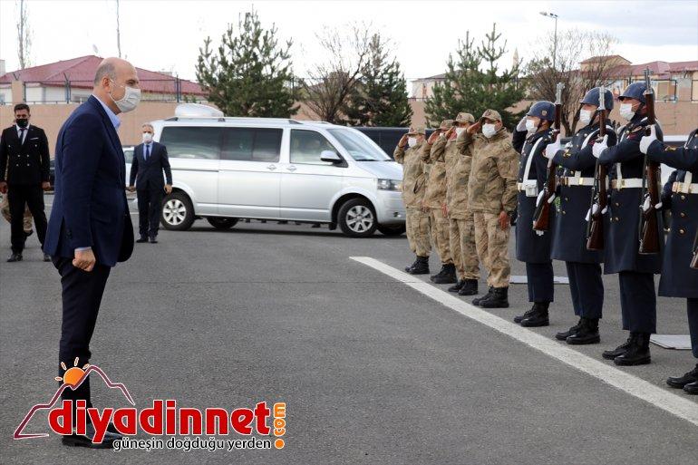 İçişleri Bakanı Süleyman Soylu Ağrı da bazı kurumları ziyaret etti3