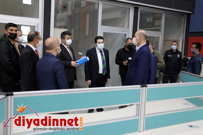 İçişleri Bakanı Süleyman Soylu Ağrı da bazı kurumları ziyaret etti4