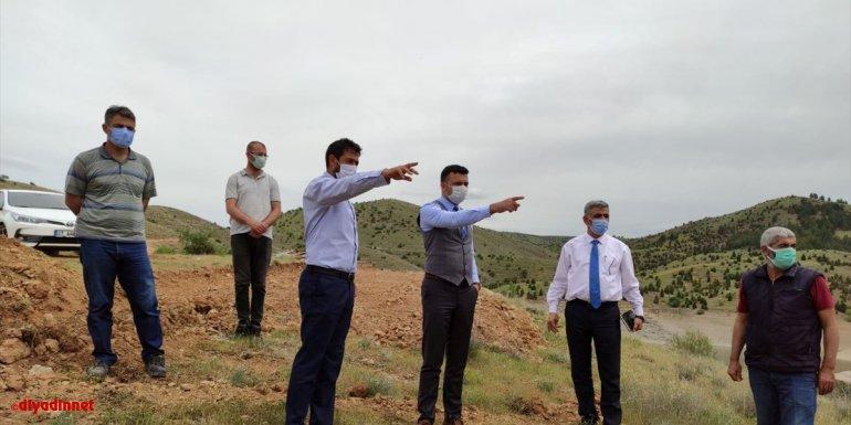 Keban Kaymakamı Akbulut 5 köyde vatandaşlarla buluştu
