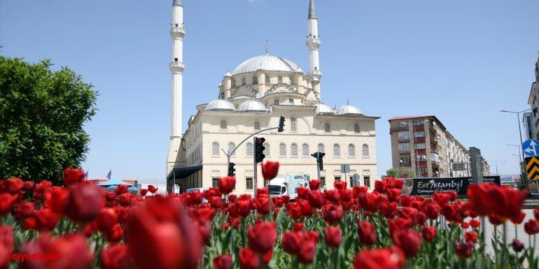 Tarih kokan şehir Erzurum bahar renklerine büründü