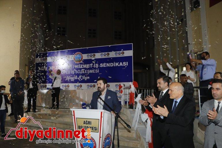 yapıldı Ağrı'da maaşına zam bin işçilerinin lira belediye 4