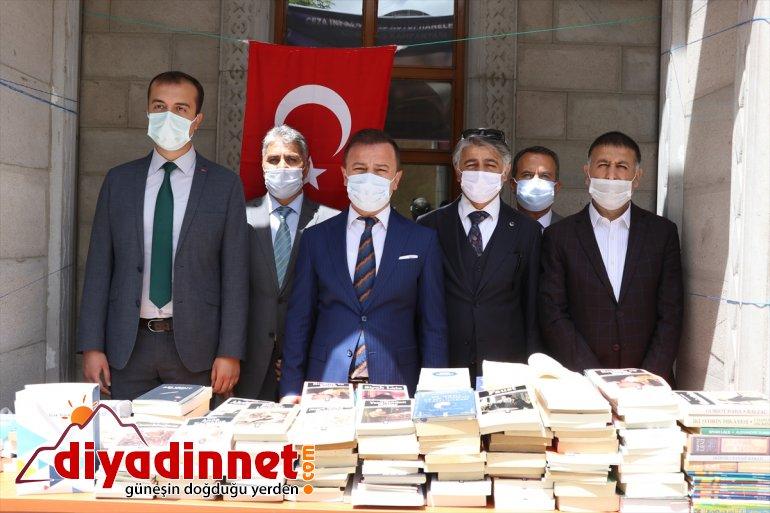 kitap hükümlü başlatıldı için bağışı kampanyası tutuklular ve Ağrı'da 2