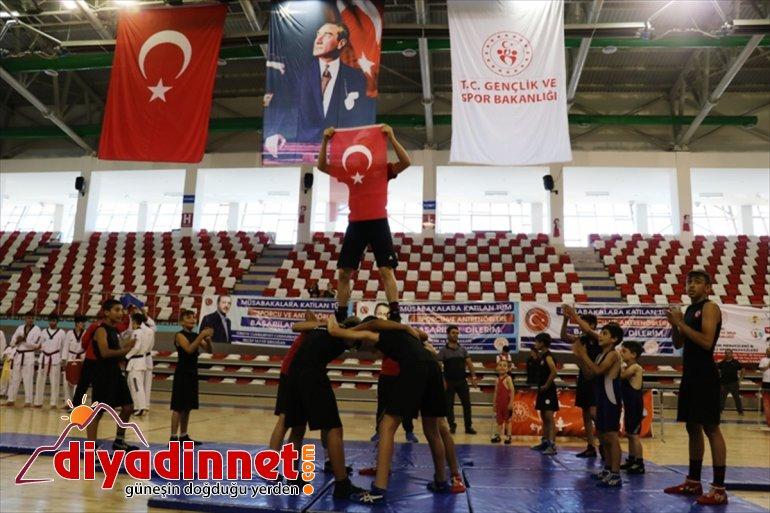 Engelsiz açıldı Okulları Okulları Spor Ağrı'da Spor Yaz ve 3