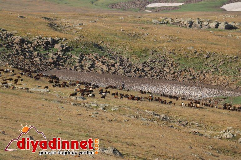 nedeniyle geçiyor zorlu Doğu yayla hava yolculuğu Anadolu'daki sıcak 4