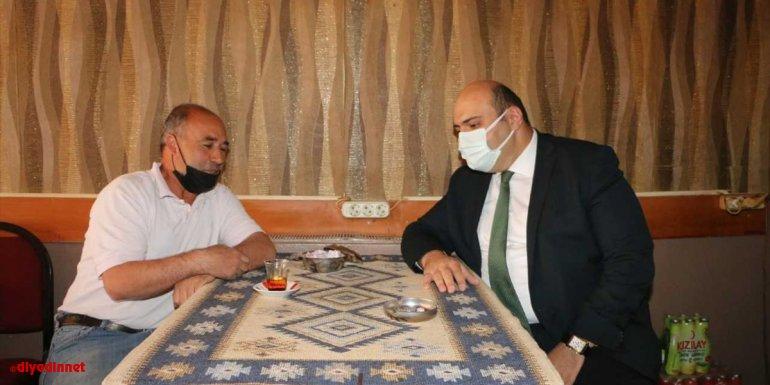 """Erzurum'da belediyeden kıraathane işletmecilerine """"kıtlama şeker"""" desteği"""