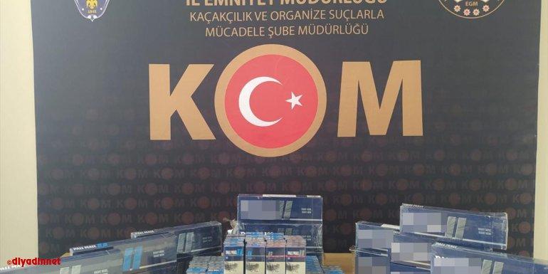 Erzurum'da sigara kaçakçılarına yönelik operasyonda 4 kişi tutuklandı