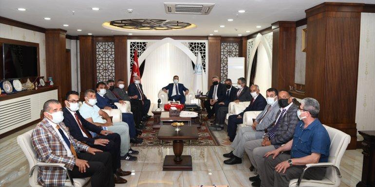 GAP Gazeteciler Birliği heyeti Hakkari'yi ziyaret etti