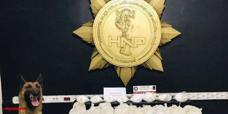 Hakkari'de 30 kilo 400 gram eroin yakalandı