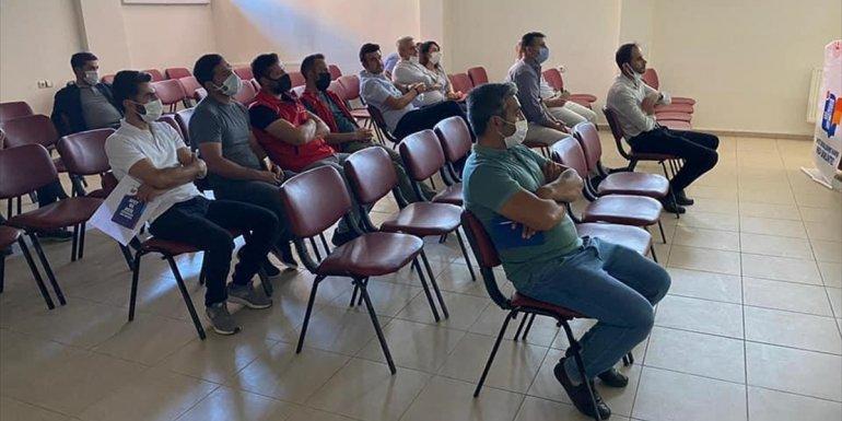 """Hizan'da kamu çalışanlarına """"afet farkındalık"""" eğitimi verildi - Bitlis Haberleri"""
