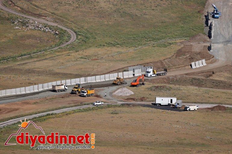 güvenlik Bakanı hattında inceledi: sınır duvarı İçişleri çalışmalarını yapılan Soylu, 14