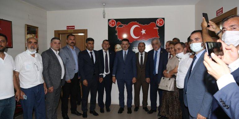 Tarım ve Orman Bakanı Pakdemirli, MHP Iğdır İl Başkanlığını ziyaretinde konuştu:
