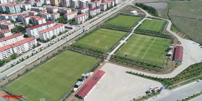 Palandöken Yüksek İrtifa Kamp Merkezi, futbol takımlarını ağırlamaya hazırlanıyor